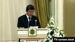 Türkmenistanyň daşary işler ministri Raşit Meredow.