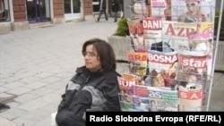 Prodaja štampe, Sarajevo, ilustracija