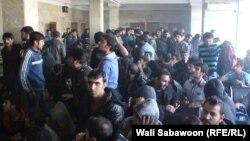 تعدادی از افغان های که از ترکیه اخراج و به تاریخ 26 نوامبر توسط طیاره به کابل انتقال داده شده اند