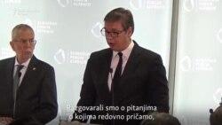 Vučić i Tači potvrdili da su se sastali u Beču