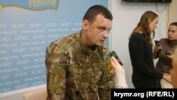 Станіслав Краснов на прес-конференції в Києві, 2 березня 2016 року