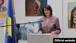 Ish-presidentja e Kosovës, Atifete Jahjaga. Fotografi nga arkivi