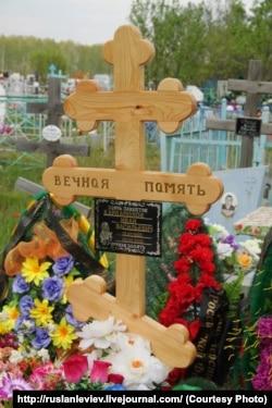 Могила Ивана Кардаполова в Челябинской области