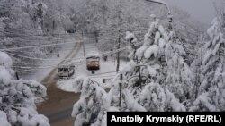 Ангарский перевал, Крым