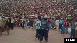 جماهير من المشجعين لفرق عراقية
