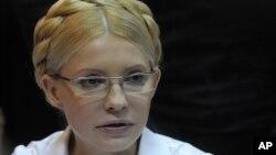 Former Ukrainian Prime Minister Yulia Tymoshenko in court last year