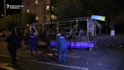 Bus Explosion In Yerevan Kills Two Passengers