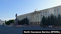 Здание правительстви и думы Ставропольского края, Ставрополь (архивное фото)