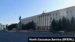 Правительственное здание Ставропольского края, город Ставрополь (архивное фото)
