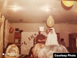 Детская самодеятельность на празднике в советской колонии в Тегеране