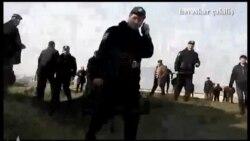 Видео с акции протеста в Гяндже