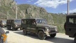 Конвој полициски џипови се упатија кон Гошинце