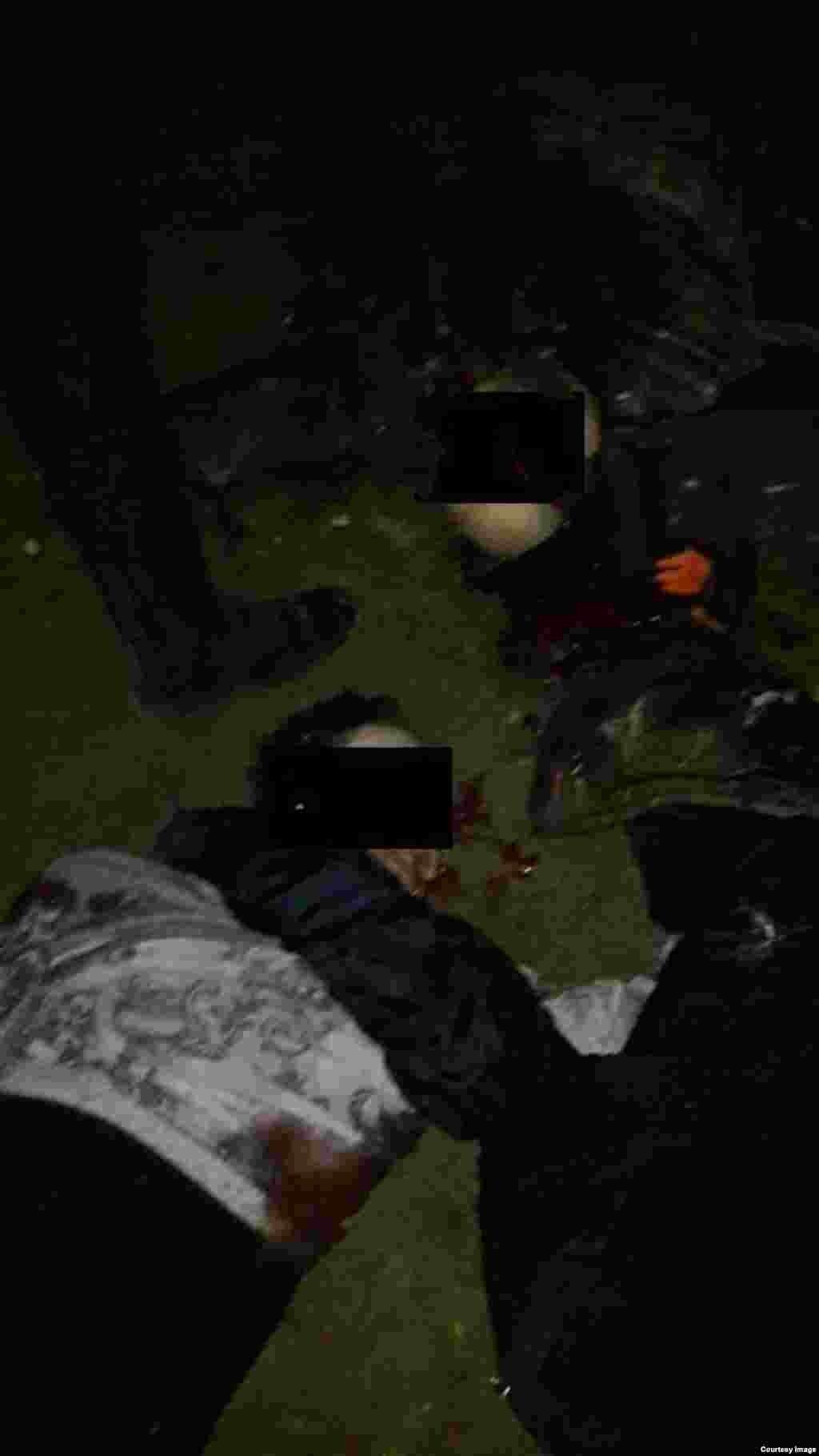 Убитые пока не опознаны силовиками
