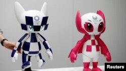Ճապոնիա - Miraitowa և Someitu ռոբոտները, արխիվ