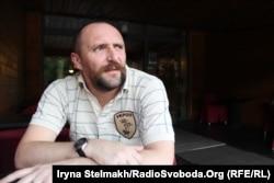 Андрій Єрмоленко із шевроном «Укроп»