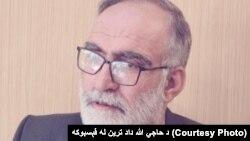 الله داد ترین رئیس انجمن تجار بلوچستان و عضو مهم حزب عوامی نشنل پشتونخواه