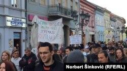 Obrazovanje je proces, a ne jednosmerni put: Demonstranti u Novom Sadu