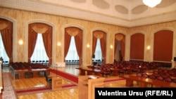 Sala de şedinţă a Parlamentului