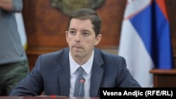 Marko Djuric is the head of the Serbian government's office for Kosovo. (file photo)
