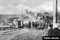 Forțe austro-ungare la Camenta