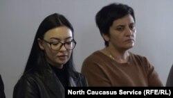 Дочь убитого Милана Тарба и невестка Татьяна Гварамия