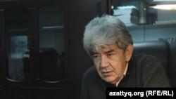 «Табиғат» экологиялық қозғалысы жетекшісі Мэлс Елеусізов. Алматы, 20 қазан 2016 жыл.