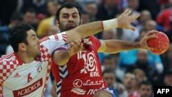 Од натпреварот Србија-Хрватска.
