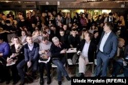 Публіка на прэзэнтацыі кнігі Алеся Пілецкага, Менск, 5 лістапада 2019