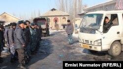 Кыргыз-кытай мушташы чыккан Өзгөндүн Куршаб айылы, 9-январь, 2012