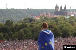 Praga 23 iunie 2019, protestul împotriva premierului Andrej Babis