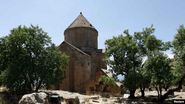The Armenian church was built in the 10th century