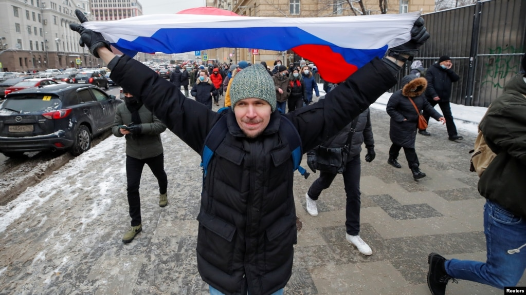 Protests in support of Aleksei Navalny have been held across Russia in recent weeks.