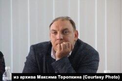 Мэр города Усолье-Сибирское Максим Торопкин