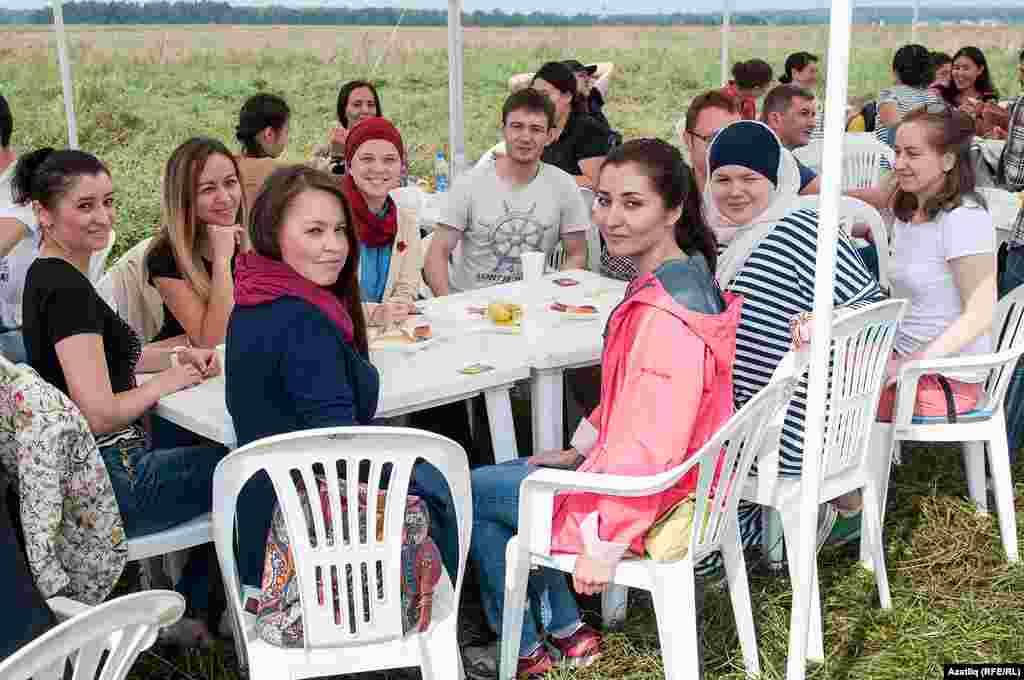 Катнашучылар арасында Мәскәү мөфтиятеннән дә кунаклар бар иде