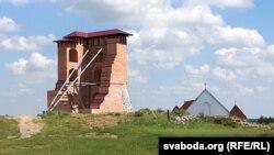 Дабудаваная вежа Наваградзкага замку