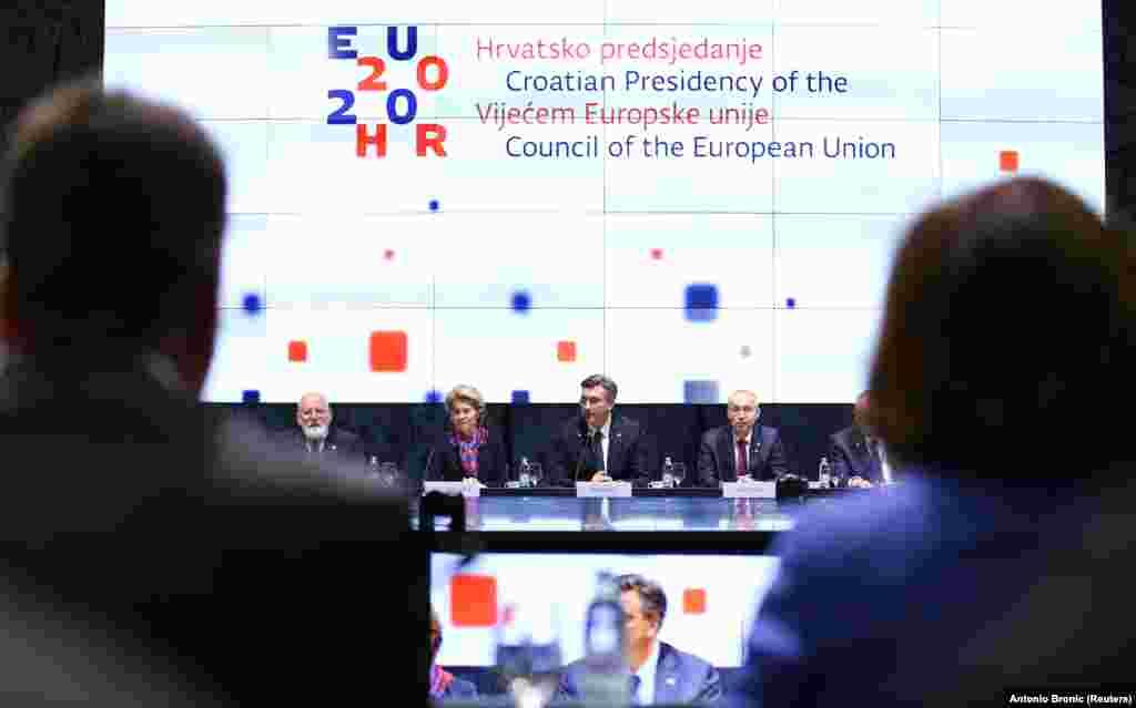 ХРВАТСКА - За време на хрватското претседателство со ЕУ посебен фокус ќе се стави на проширувањето на ЕУ во однос на Југоисточна Европа.