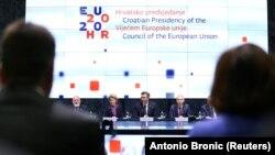 Архивска фотографија- настан по повод преземањето на шест месечното претседавање со ЕУ на Хрватска
