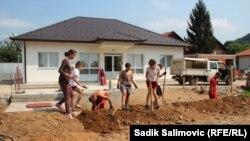 Međunarodni omladinski radni kamp u Potočarima kod Srebrenice, juli 2019.