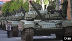 Танкі Т-72, ілюстрацыйнае фота
