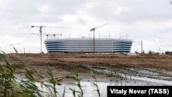 Стадионът в Калининград