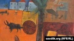 Uzbekistan -- A painting by Uzbek artist Viktop Ufimtsev, undated