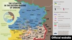 Авзоъ дар сангарҳои шарқи Украина то 13 сентябр