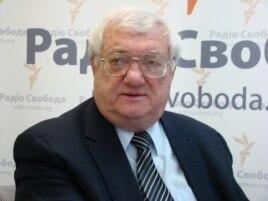 Юрий Щербак в студии Радио Свобода