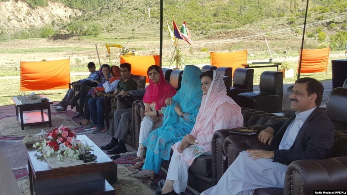 Nobel Prize Winner Malala Expresses 'Joy' During Return To Swat Valley