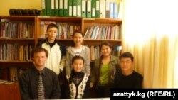 TOEFL курсунун катышуучулары.