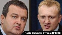 Ivica Dačić premijer Srbije i Drgan Đilas predsjednik DS