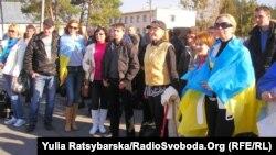 Дніпропетровські активісти з резервістами, 31 березня 2014 року