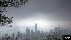 لنگرگاه ویکتوریا در هنگکنگ