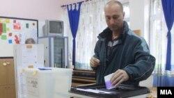 Гласање на претседателски и предвремените парламентарни избори 2014 на 27 април 2014