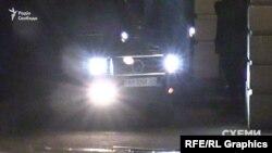 З території офісу Порошенка виїхала автівка, якою користується екс-голова адміністрації Януковича Сергій Льовочкін